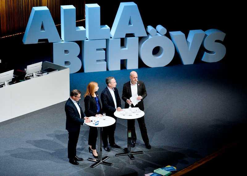 Sverige behöver en ny regering och en icke-vinstdriven välfärd, skriver Tobias Baudin, LO.