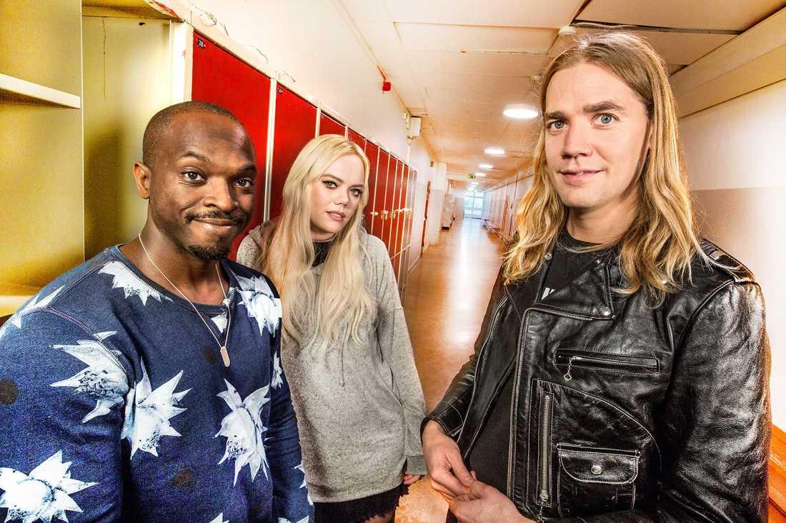 Musikhjälpen leds av Kodjo Akolor, Little Jinder och Pelle Almqvist.