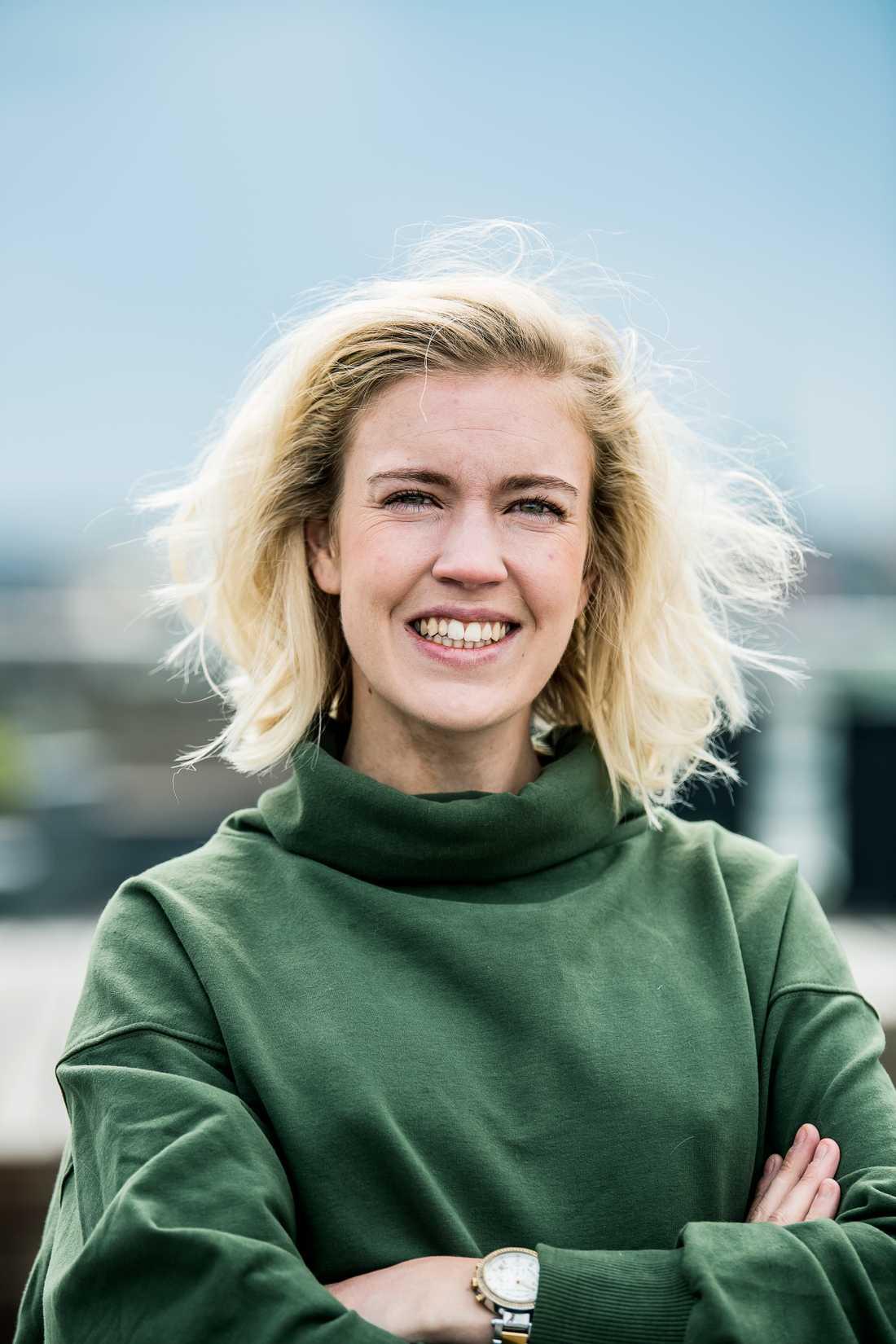 Victoria Voss Bignet, 30, är doktorand i hälsosam och hållbar mat vid Stockholms universitet.
