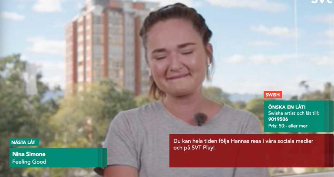 "Hanna ""Hannapee"" Persson."