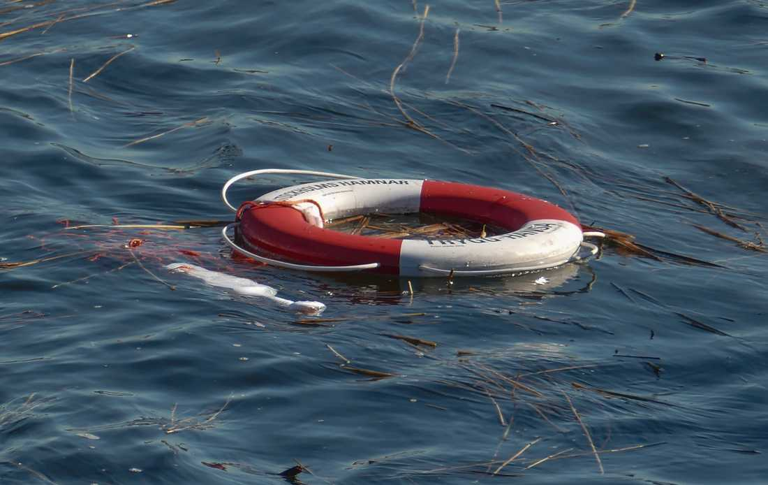 En person fördes till sjukhus efter en allvarlig olycka i en småbåtshamn i östgötska Ydre kommun. Arkivbild.