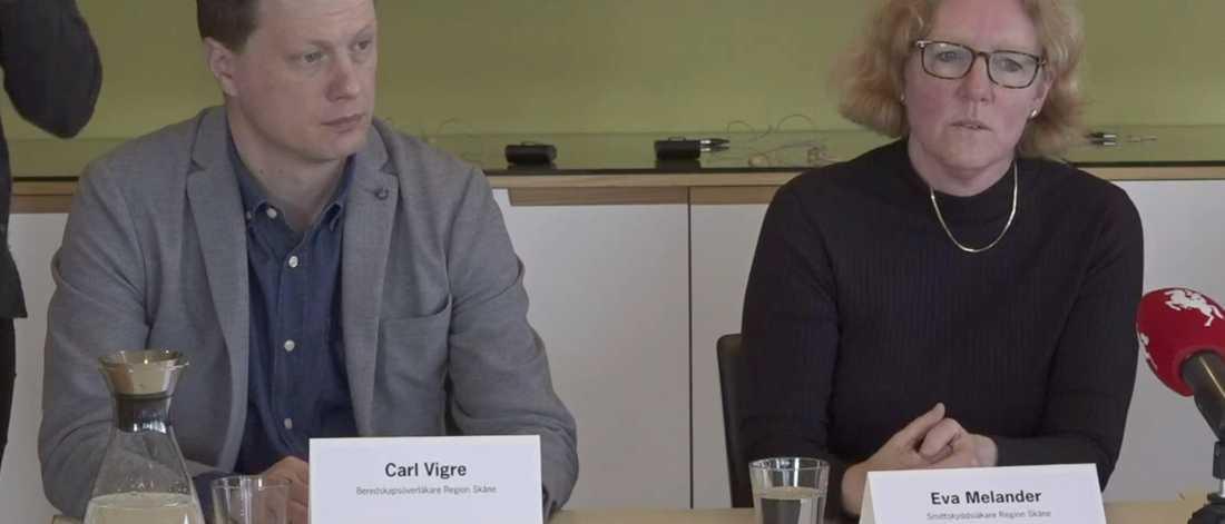 Eva Melander bekräftar att Region Skåne bara är dagar ifrån en ny provtagningsstrategi.