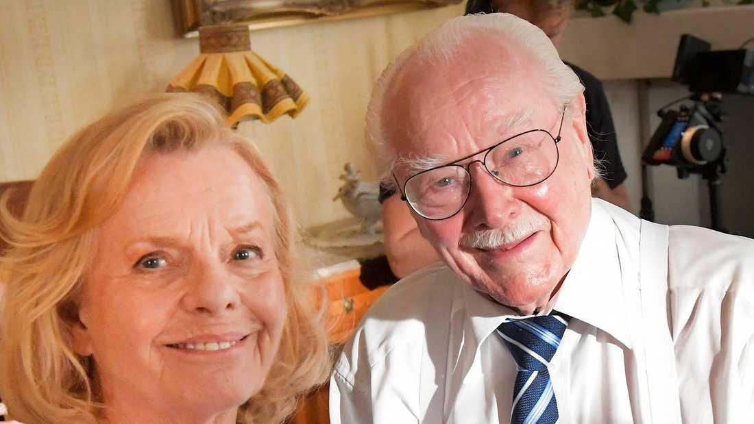 Jan Malmsjö och Marie Göranzon.