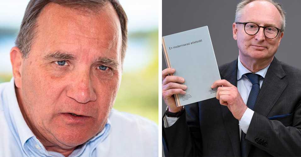 Löfven kritisk till egna utredarens Las-förslag