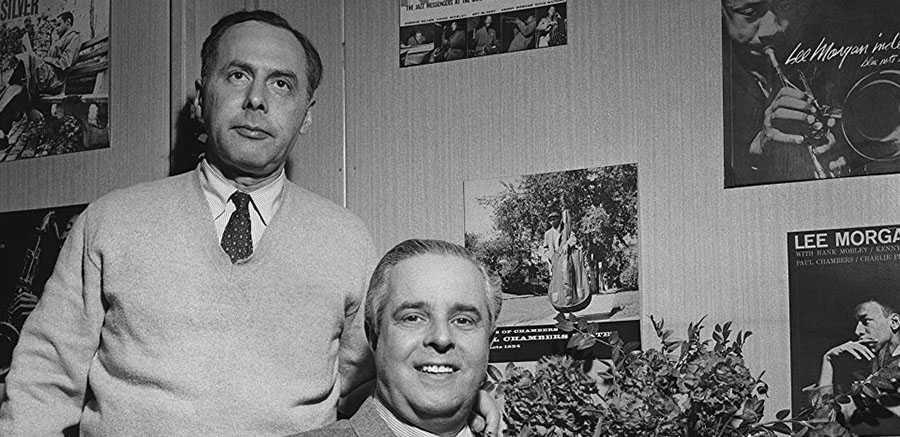 Grundarna Alfred Lion och Francis Wolff.