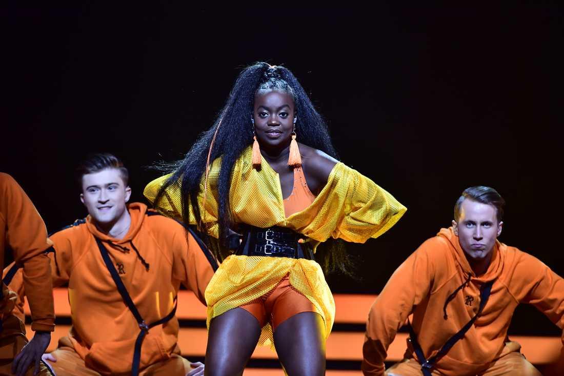 Renaida i Melodifestivalens final