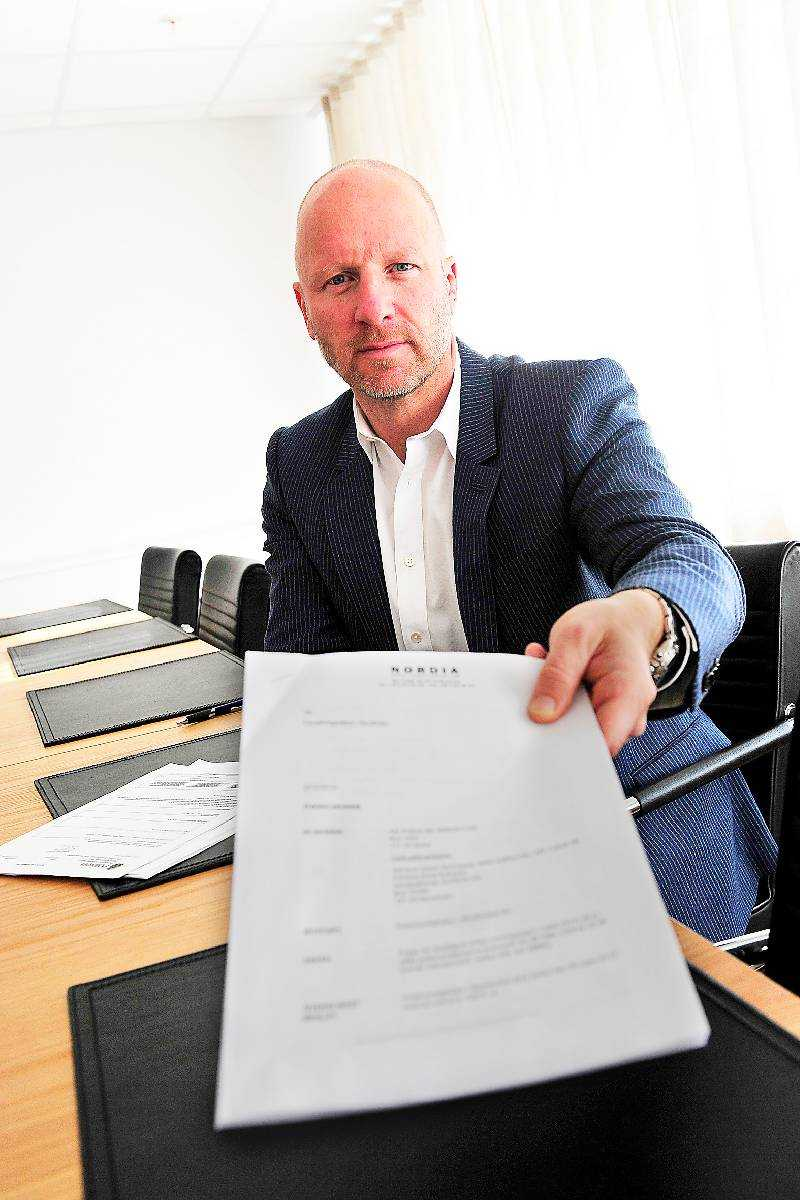 AIK:s ordförande Johan Strömberg.
