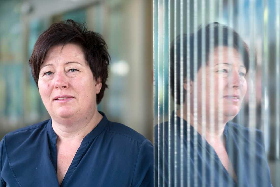 Malin Ackholt, ordförande i Hotell- och Restaurangfacket.