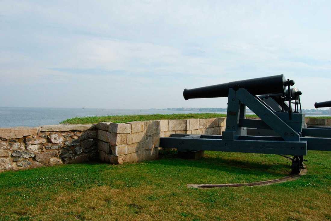 Fort Phoenix i Massachusetts, USA.