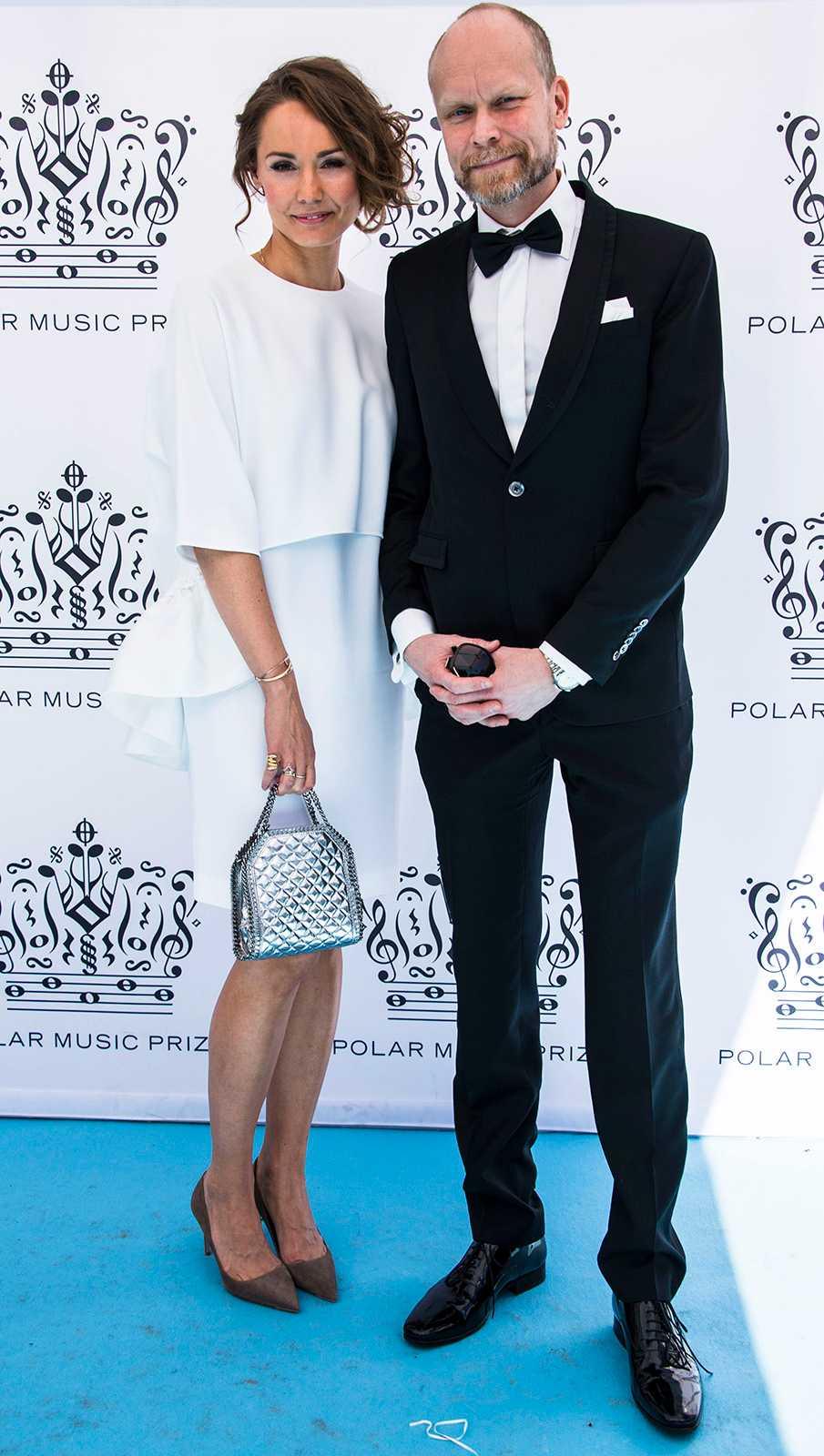 Tillsammans på Polarpriset i juni 2015.