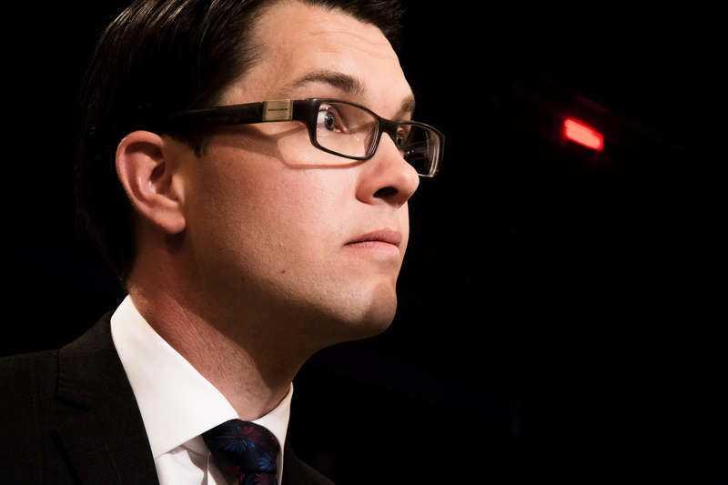 Enfrågepartist Jimmie Åkesson gav upp försöken att bredda partiet i Almedalen i dag.