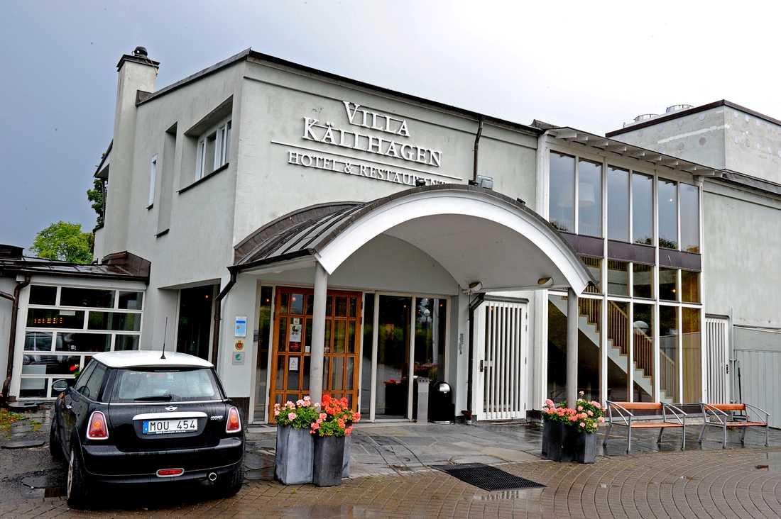 Villa Källhagen på Djurgården.