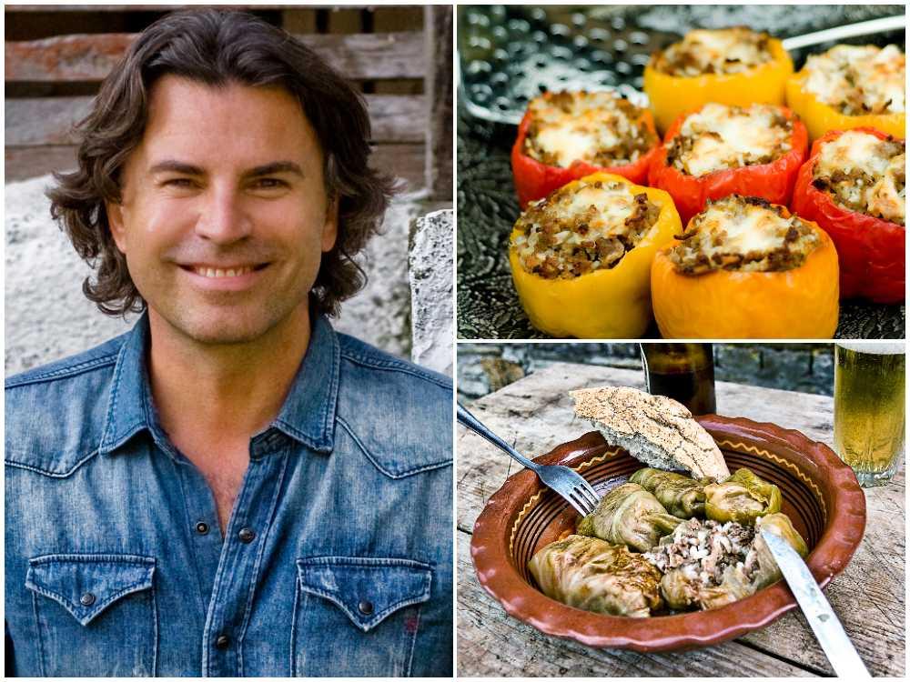 Jovan Radomir bjuder på recept från Balkan.