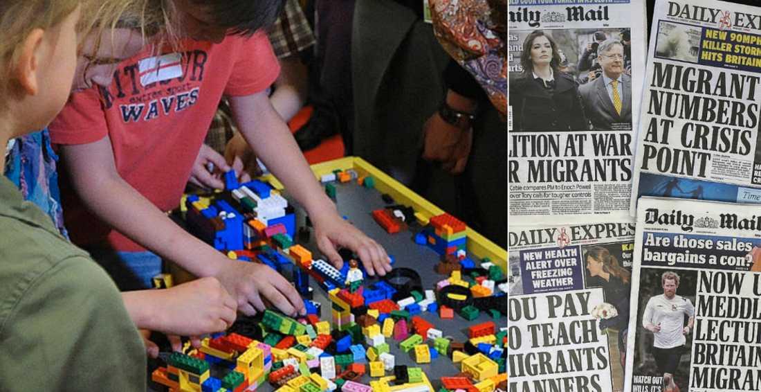 Lego blir nu första företag att delta i den brittiska kampanjen som uppmanar till avståndstagande mot tveksam högermedia.