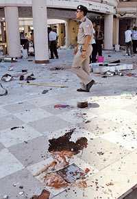 Förödelsen Turistorten Shram el-Sheikh är sig inte lik. Överallt syns spår efter terrordåden som tog 88 liv.