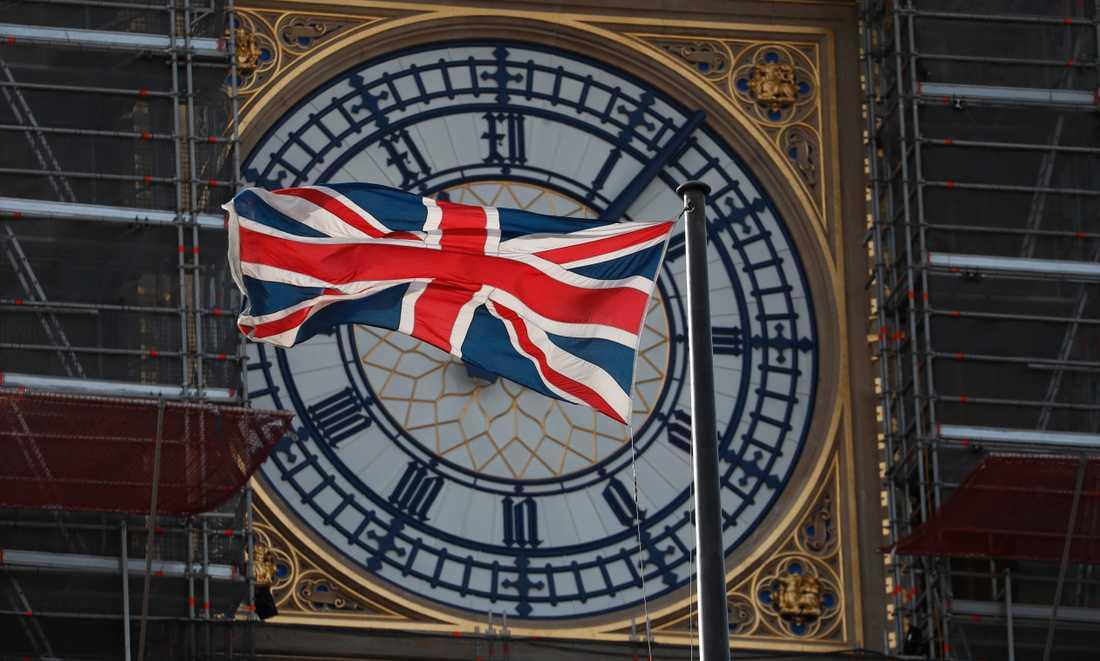 Big Ben kan komma att förkunna brexitögonblicket. Arkivbild.
