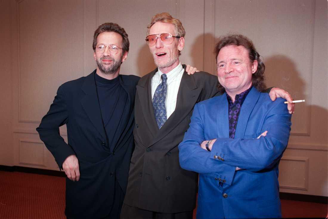 Eric Clapton, Ginger Baker och Jack Bruce.