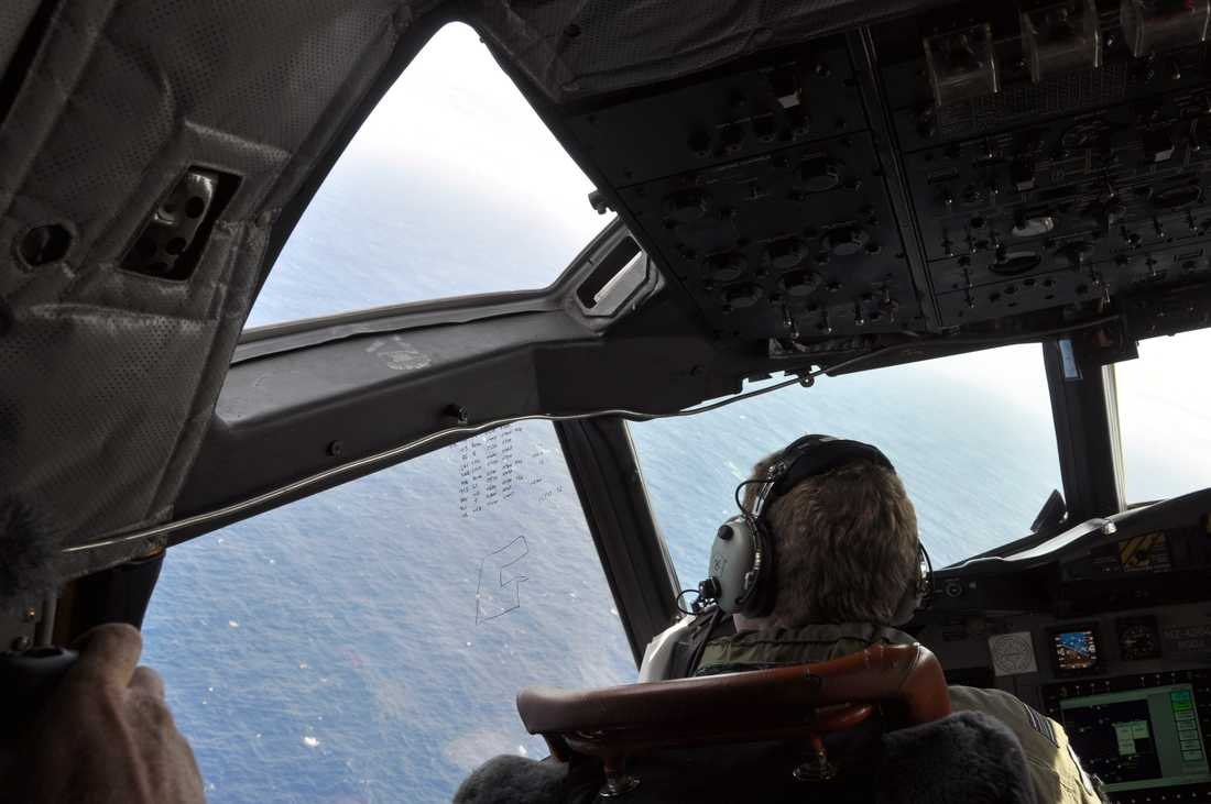 Nya Zeelands flygvapen deltog i sökandet efter MH370. Bilden är från 2014.