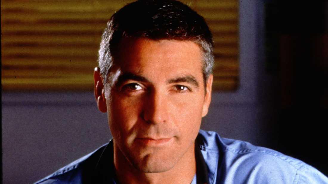 "George Clooney som läkare i tv-serien ""Cityakuten""."