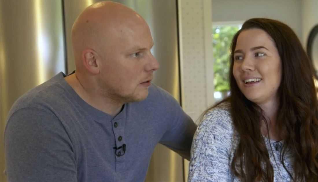 Sebastian och Petra Liljeblad tvingades slakta djur förra året på grund av foderbristen.