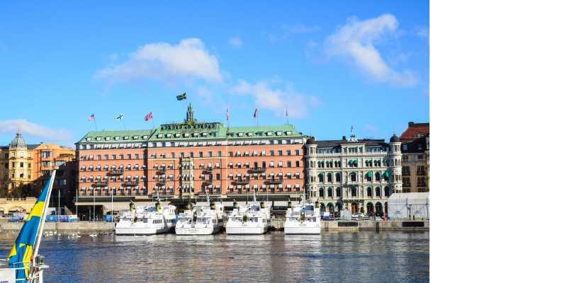 Grand Hôtel, Stockholm.