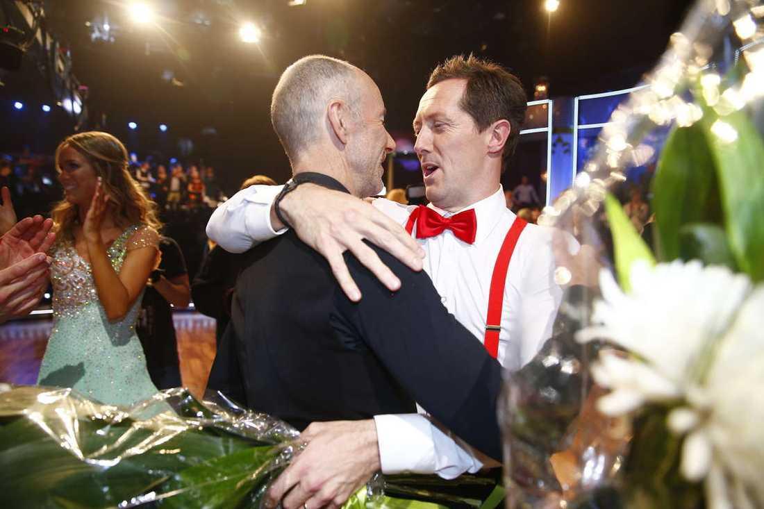 "Jonas Björkman missar finalen i ""Let's dance""."