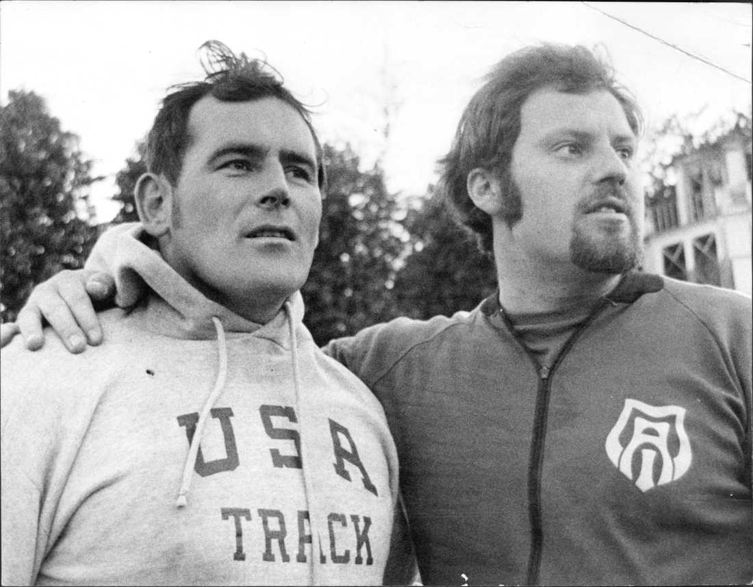 Jay Silvester var en av Bruchs största konkurrenter. Här 1971.