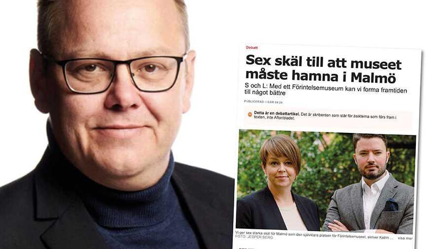 Det finns starka skäl för att S i Malmö inte förtjänar att få ett förintelsemuseum i vår stad. Men om det används för att även belysa nutidens antisemitism och S passivitet att hantera den problematiken i Malmö så finns det en poäng med museet, skriver John Roslund.