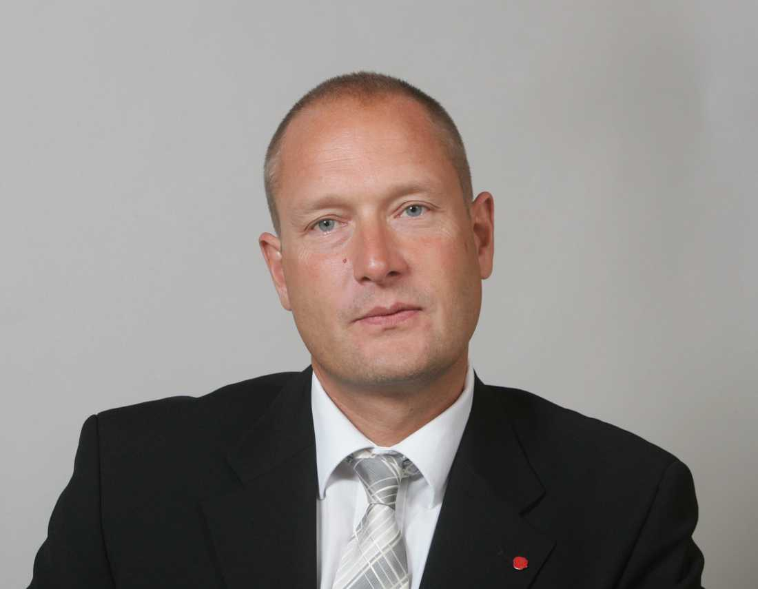 Riksdagsledamot Hans Hoff (S).