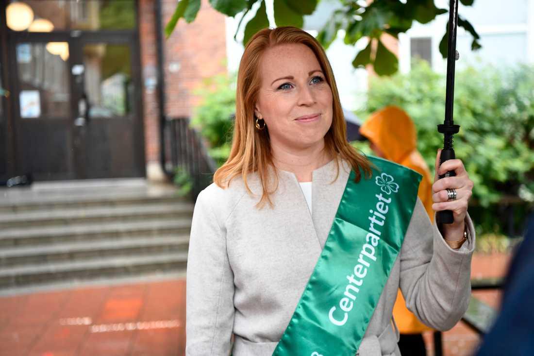 Centerpartiet kommer inte att stödja misstroendeförklaringen mot Annika Strandhäll (S). Arkivbild.