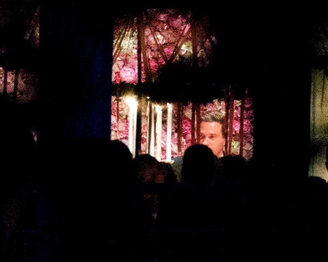 Under Chris O'Neills känslosamma tal var inte många ögon torra enligt uppgifter från festen.