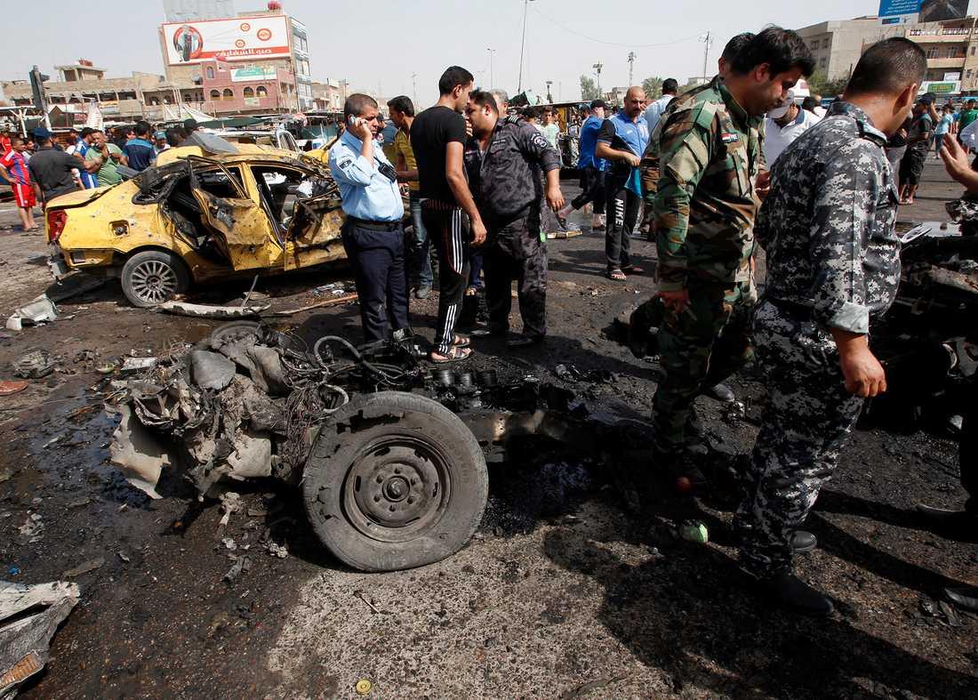 Självmordbombare, Bagdad 17 maj.