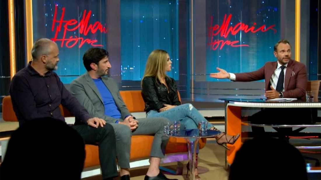 Bianca Ingrosso gästar David Hellenius.