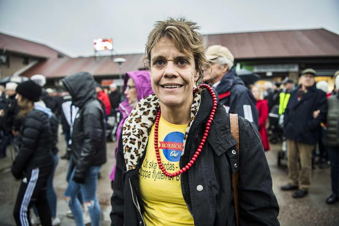"""""""Ett kulturarv"""", säger Sofia Svensson om Boxholmsosten."""