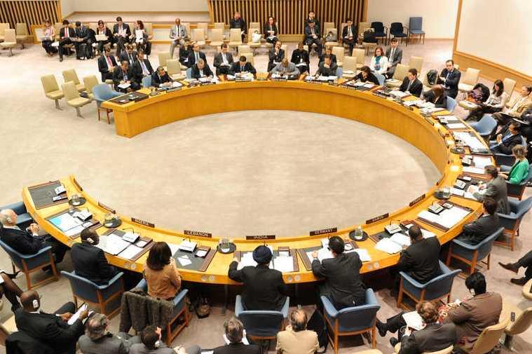FN:s säkerhetsråd i möte under torsdagen.