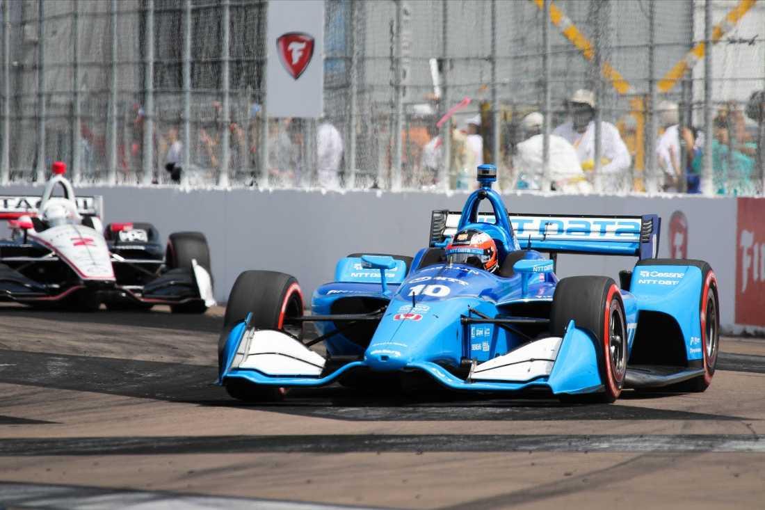Felix Rosenqvist fortsätter att imponera i IndyCar