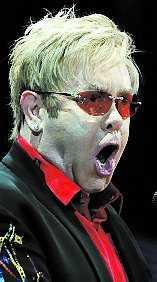 Elton är tvåa.