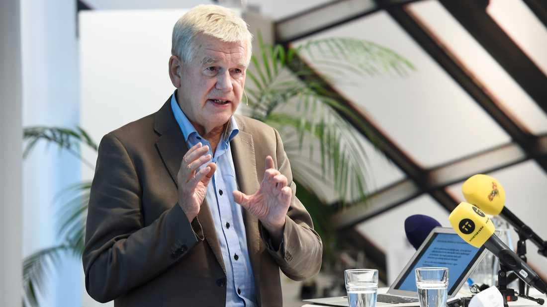Kjell Asplund leder en statlig utredning som tänker föreslå att alternativmedicinare ska granskas av Inspektionen för vård och omsorg. Arkivbild.