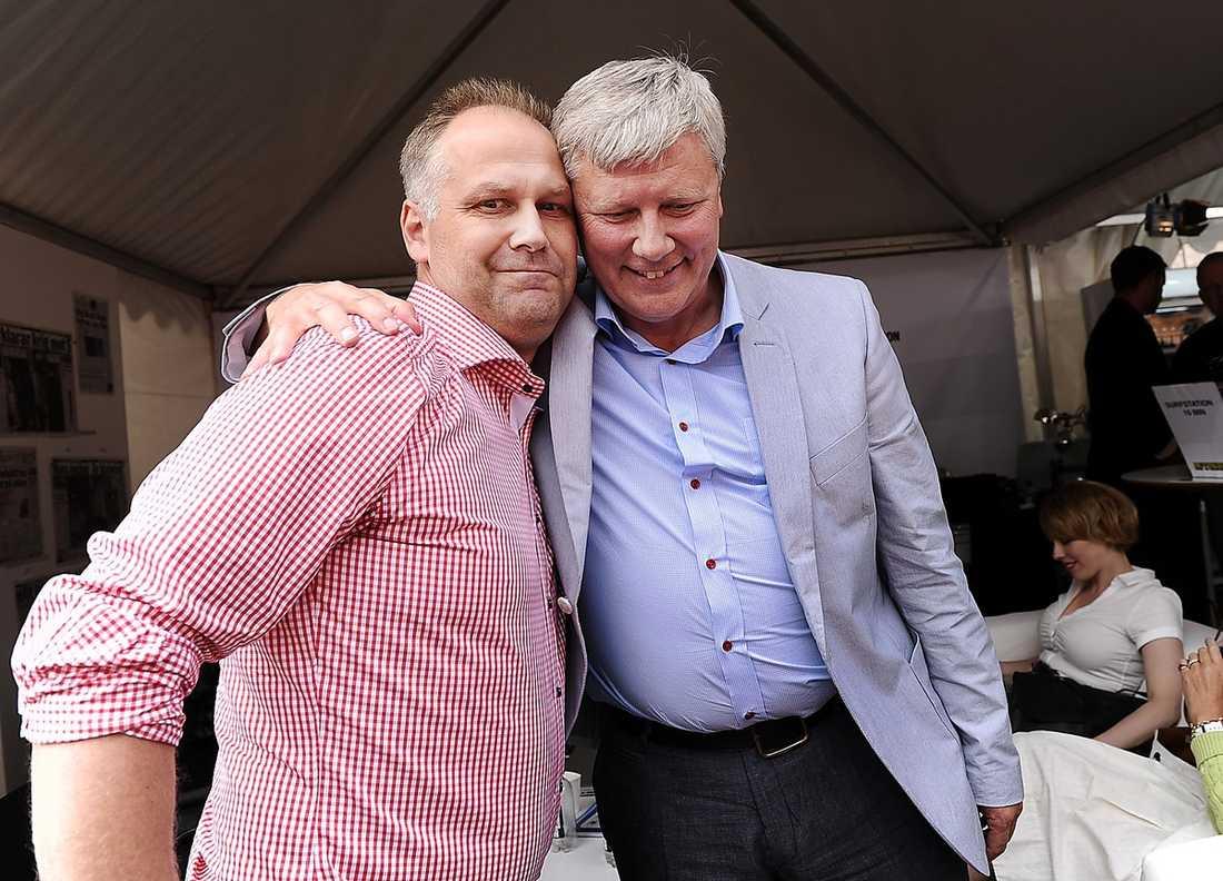 Jonas Sjöstedt är en av flera i den innersta kretsen som öppet sagt att han vill kandidera till partiledare.