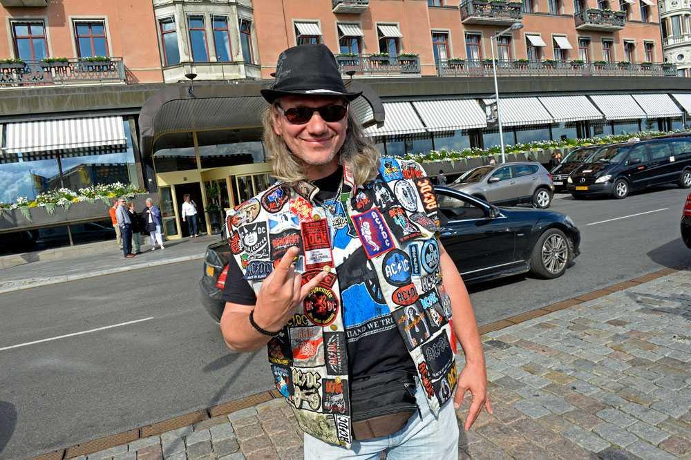 Den tyske hårdrockaren Sven har åkt ända från Karlsruhe för att se sina idoler i AC/DC. Snart har han sett bandet 42 gånger.