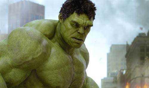 Mark Ruffalo som Hulken.