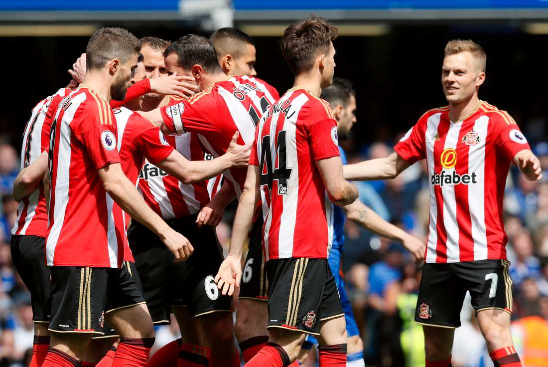 Sunderland (bilden), Bolton och Ipswich är några exempel på klassiska lag som numera huserar i hårt drabbade League One.