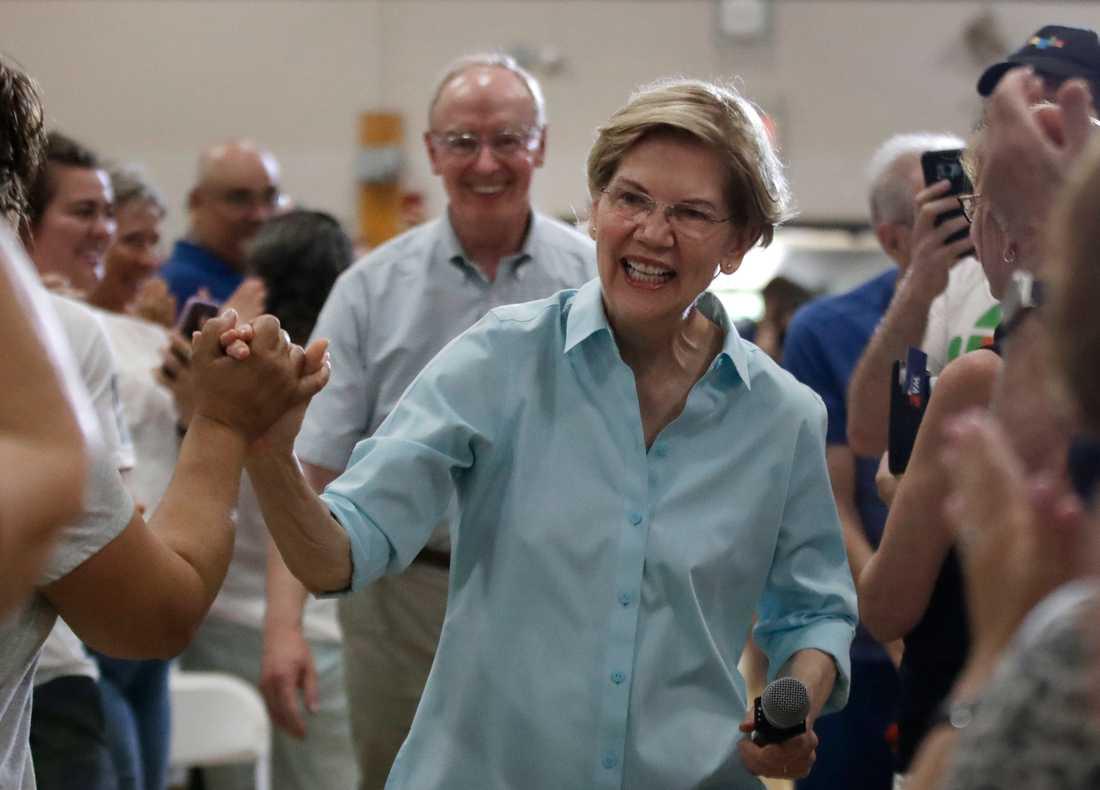Presidentaspiranten och Massachusettssenatorn Elizabeth Warren.