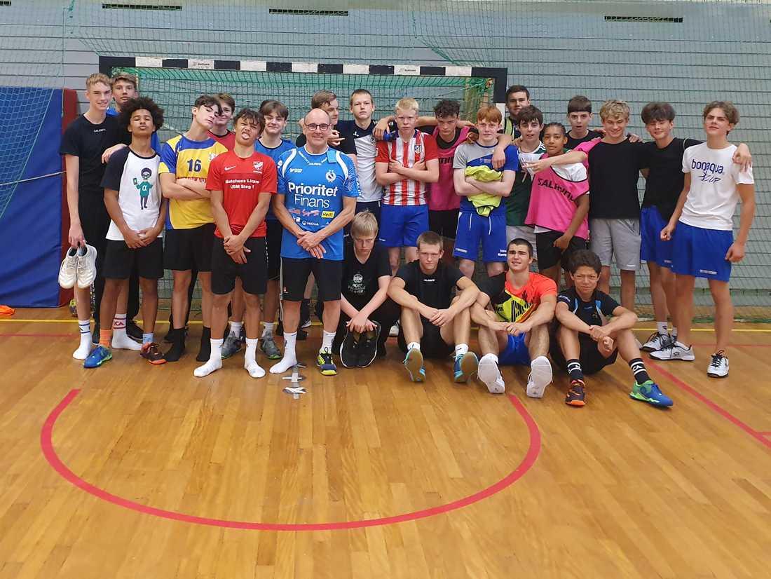 I Redbergslids P15-lag finns 15 olika nationaliteter bland de 26 spelarnas föräldrar.