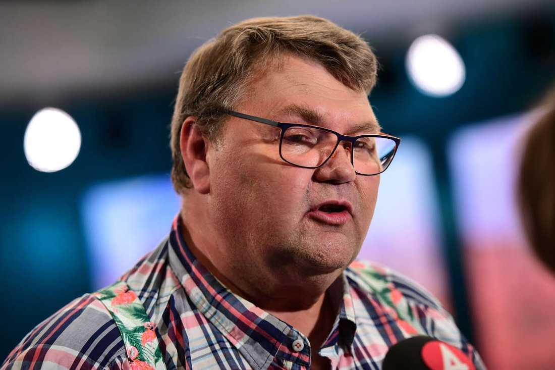 PEter Lundgren, Sverigedemokraternas toppkandidat i EU-valet.