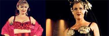 Tuffa modeller på Kvinna 2001-galan som ägde rum i höstas.