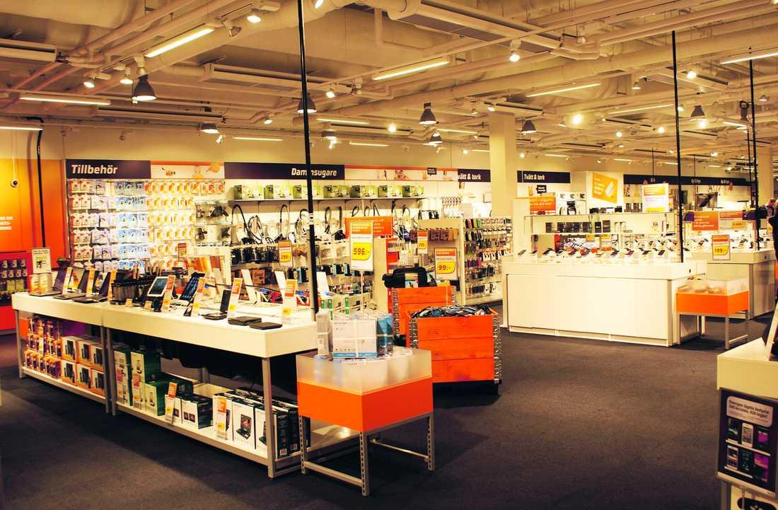 En av Experts 136 butiker.