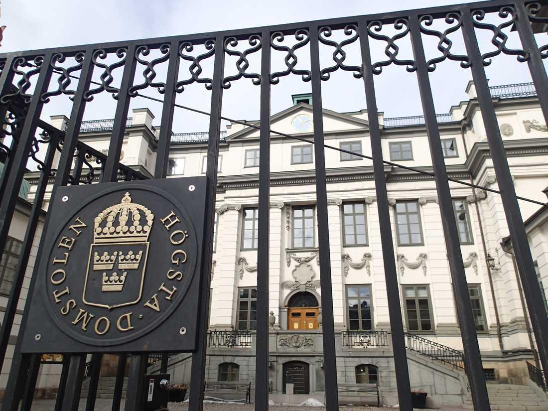 Högsta domstolen prövar ett utlämningsärende till Kina. Arkivbild.
