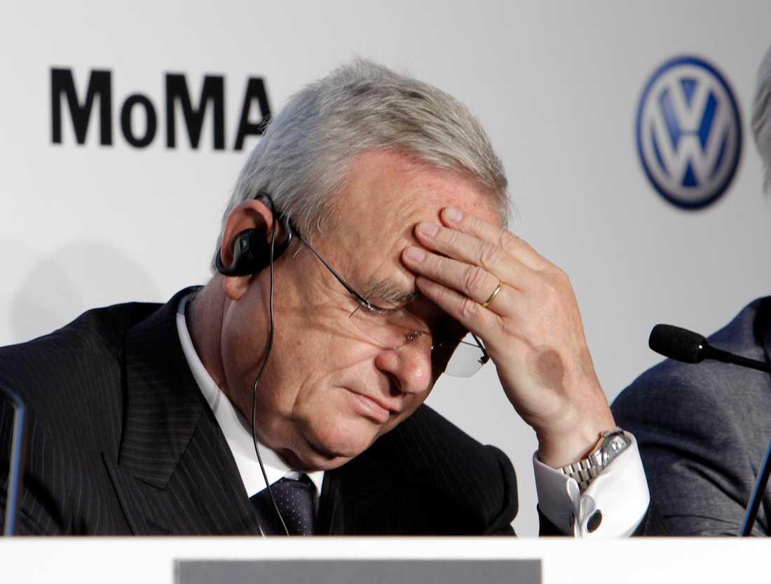 Volkswagens vd Martin Winterkorn.