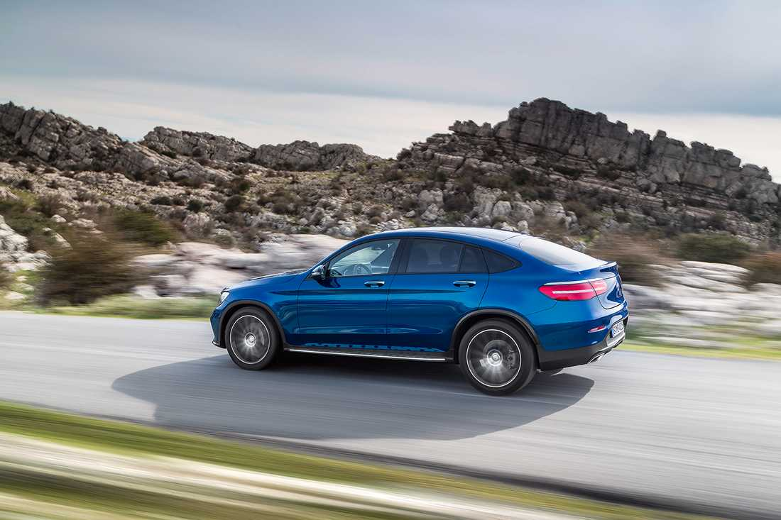 Mercedes GLC Coupé premiärvisades på New York-salongen nu i april.